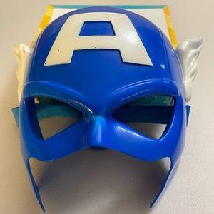 Captain America toddler mask